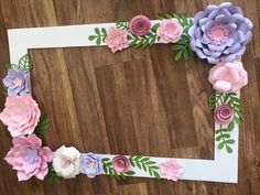 Floral Photo Booth Frame/wedding/birthday Party Selfie Frame – Paper Flowers – shower Party Decorations – Birthday – Floral Frame – In-house Factory Party Photo Frame, Party Frame, Photo Frame Prop, Baby Shower Photo Frame, Flower Picture Frames, Picture Frame Decor, Paper Flowers Wedding, Giant Paper Flowers, Baby Shower Pictures
