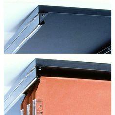 PAIRE DE RAILS POUR DOSSIERS SUSPENDUS 760mm - Accessoires de bureau - Décoration & Equipement - Mobilier de bureau-13.60€ TTC