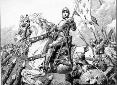 Joan Of Arc (Original) art by Fortunino Matania Archive