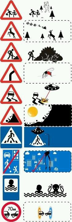 Funny pictures about Popular Road Signs Uncropped. Oh, and cool pics about Popular Road Signs Uncropped. Also, Popular Road Signs Uncropped photos. Funny Cute, The Funny, Hilarious, Funny Images, Funny Photos, Art Images, Funny Road Signs, Humor Grafico, Street Signs