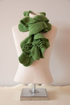 For those colder climate locations St. Patty's day requires some creativity to turn warmth into style.  A chic scarf could both warm you up, add the great technique of layering, and give you that pop of green color and be festive. To get your style on via scarf there are some inspirations below
