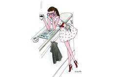 Ilustração: Kanako Kuno  http://amoantix.com/vida-ilustrad/