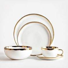 :: Dauville Place Setting by canvas home™ on Zola ::