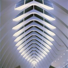 The concentration of the Canton of St. Gallen's emergency services into a single building demanded relocation into new premises. Arch Interior, Interior Lighting, Lighting Design, Santiago Calatrava, Space Architecture, Futuristic Architecture, Vienna House, Airport Design, Dream House Exterior