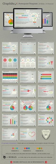 powerpoint business presentation template | presentation templates, Presentation templates