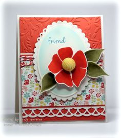 http://onehappystamper.typepad.com    Cindy's Stippled Nature Card <3
