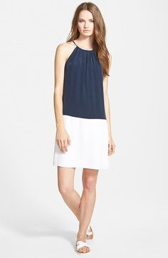Amour+Vert+'Joan'+Sleeveless+Silk+Top+available+at+#Nordstrom