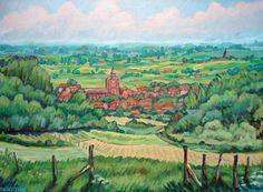 """Saatchi Art Artist Christophe Williart; Painting, """"Saint-Jans - SOLD"""" #art"""