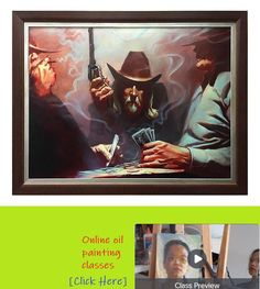Legacy Prints and new Oil Paintings will be on display December at Revolvers, Wild West, Oil Paintings, The Creator, December, Batman, Display, Superhero, Prints