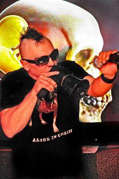 maynard james keenan- my favorite bands wearing my favorite bands shirts
