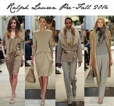 Fashion Foie Gras: Ralph Lauren's Pre-Fall Collection is the most elegant collection of pieces we have seen in years