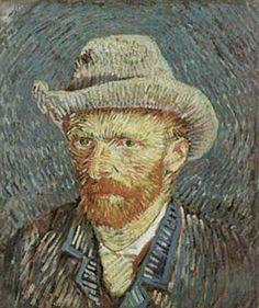 Vincent Van Gogh - Self Portrait, 1887
