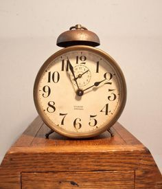 Edwardian alarm clock - Google Search