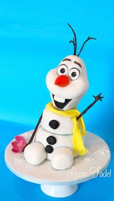 Olaf Cake from Frozen