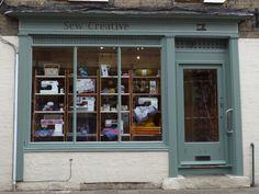 #SewCreativeCambridge #ShopFront #SewingMachines #Overlockers #Patchwork #QuiltingFabrics #Yarn #Wool #Accessories