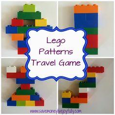 Lego Patterns Travel Game–Free Printables   Save Money Live Joyfully