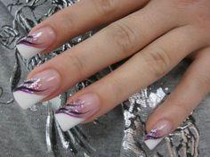 Nail art design verão 2019 francês - Nageldesign - New Ideas French Manicure Nails, French Acrylic Nails, French Nail Art, French Tip Nails, Nail Art Designs, French Tip Nail Designs, Cute Nails, Pretty Nails, Gorgeous Nails