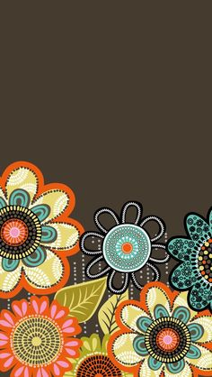 Vera Bradley Flower Shower phone wallpaper