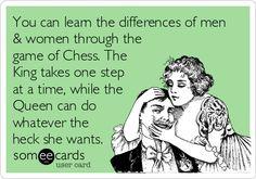 Oh My Freaking Stars!: Women, Men & Chess