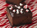Chocolate Cheesecake Candy Cane Bars -- these sound delish and look purdy, too.