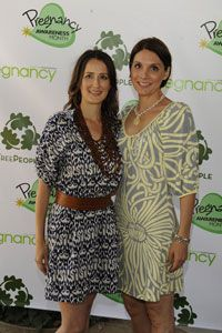 2010 Event in LA at Treepeople:  Founder Anna Getty & Co-Founder Alisa Donner