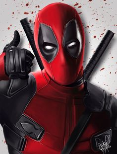 #Deadpool #Fan #Art. (Deadpool) By: Gabriela Faveri. (THE * 5 * STÅR * ÅWARD * OF: * AW YEAH, IT'S MAJOR ÅWESOMENESS!!!™) [THANK U 4 PINNING!!!<·><]<©>ÅÅÅ+(OB4E)