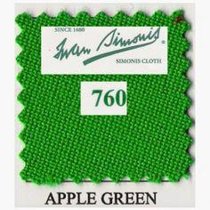 Kit tapis Simonis 760 7ft US Apple Green - 190,00 €  #Jeux