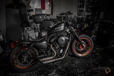 Harley Davidson Iron 883 | repinned by www.BlickeDeeler.de