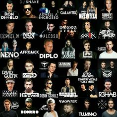 What your favorites ? Mine r Avicii,Tiësto,Don't diablo,David,KYGO but there's way more I like doe
