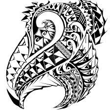 Right chest design for samoan tribal