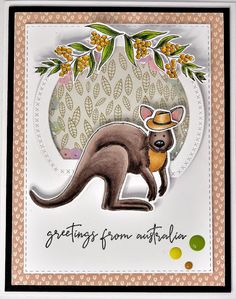 Hi Everyone I am here with a Little Tutorial for Uniquely Creative usind the New Kit and Add on Stamps and Dies June Kit - Good. Australian Christmas Cards, Aussie Christmas, Color Kit, Colour, Jennifer Mcguire Ink, April Challenge, Xmas Cards, Greeting Cards, Bad Cats