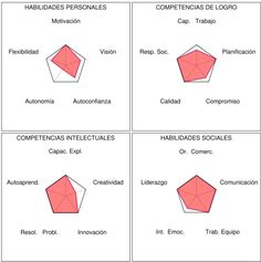 Perfil Emprendedor Chart, Socialism, Social Skills, Leadership, Profile