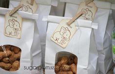"""Little Peanut"" baby shower favors #littlepeanut #babyshowerfavors"