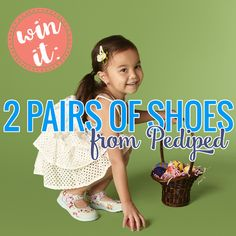 Win It: Two Pairs of Shoes from Pediped » Daily Mom