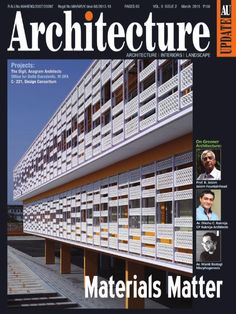 Here we share the link of latest March 2015 issue‬ of ‎Architecture Update Magazine‬ for you to take a quick review.