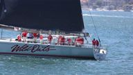 EXCLUSIVE VIDEO Princess Mary and Prince Frederik take Wild Oats XI out on Sydney Harbour