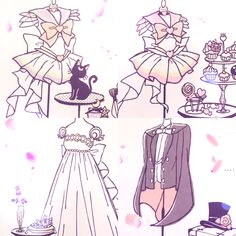 ✨ Holley Tea Time ✨ — pyro42:   There are all these cute doodles at the...
