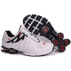 new style f69ca 5e884 104265 102 Nike Shox R4 White Black J09155