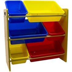 Everyday Space Saving Kid's Toy Storage Organizer KIDSTOY-RYB,    #Everyday_KIDSTOY-RYB