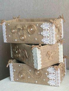 19 Handicrafts and handicrafts with burlap - I do it myself Jute creates ideas for Christmas!Jute creates ideas for Christmas! by Vinita ❤️❤️ - Musely(no title) 19 Handicrafts and handicrafts with burlap - I do Burlap Crafts, Diy Home Crafts, Decor Crafts, Crafts To Make, Arts And Crafts, Upcycled Crafts, Handmade Crafts, Home Decor, Decoration Shabby