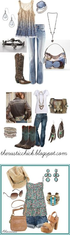 """""""Western summer~"""" by meandjb on Polyvore 