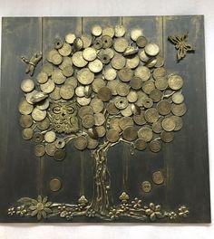 Glücksbringer  Geldbaum HANDMADE