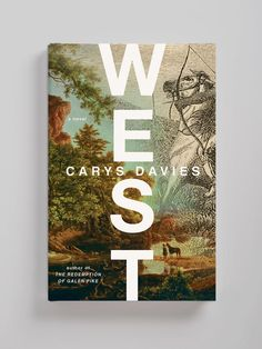 🐎 Striking design for WEST by art directed by 🎩 The large vertical sans-serif type in contrast with the detailed… Book Cover Design, Book Design, Best Book Covers, Cool Books, Publication Design, Magazine Template, Grafik Design, Book Themes, Bird Art