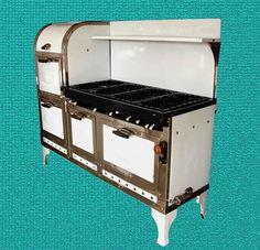 1939 Magic Chef Antique Gas Stove 6300 Series