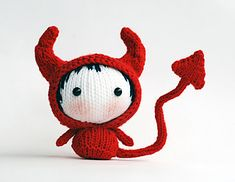 This is a Devil Doll Knitting Pattern! I am interested in trying it soon! XOXO,Monni
