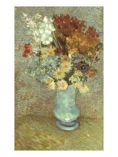 Van Gogh: Flowers, 1887 Giclee Print by Vincent van Gogh at Art.com