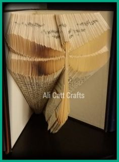 Dragonfly-Book-folding-pattern