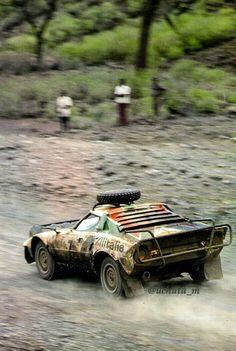 Lancia Stratos al Safari Rally Sport Cars, Race Cars, Automobile, Colin Mcrae, Rally Raid, Motosport, Car Photos, Amazing Cars, Courses