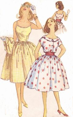 1960s Rockabilly Simplicity Sewing Pattern 3471 by CloesCloset, $18.00