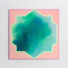 """Untitled - Star Series"" 2015 / 110x110 CM / Acrylic on Canvas"